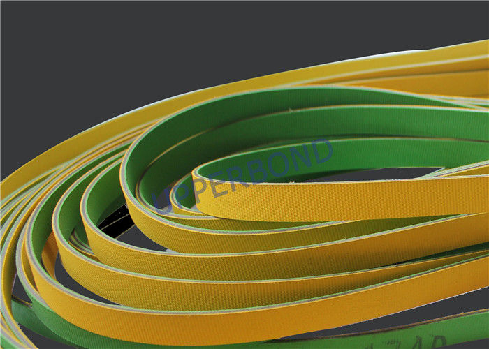 Yellow Green Power Drive Belts For MK9 Tobacco Packer Wind Generator